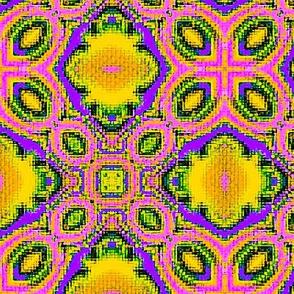 Fractal Tribal Cross-Stitch 6