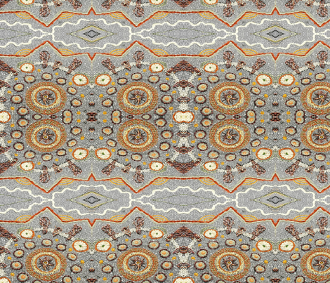 Open_Streets_Franklin-ed fabric by mandalabombs on Spoonflower - custom fabric
