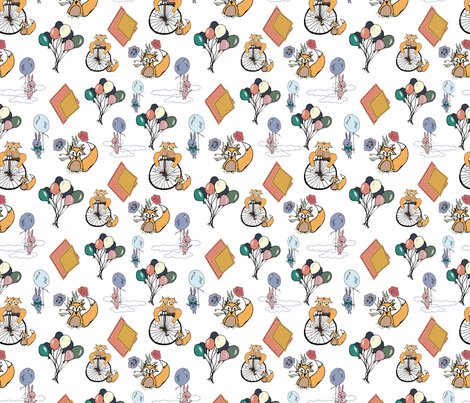 Dreaming fabric by frannieandfrankie on Spoonflower - custom fabric