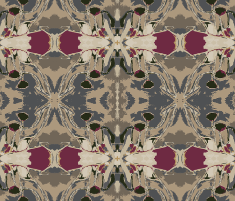 Nomadic-chic fabric by lauren_mccrea on Spoonflower - custom fabric