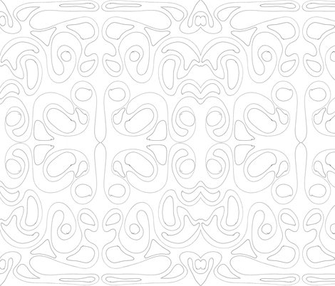 Doodle fabric by creativespaces on Spoonflower - custom fabric