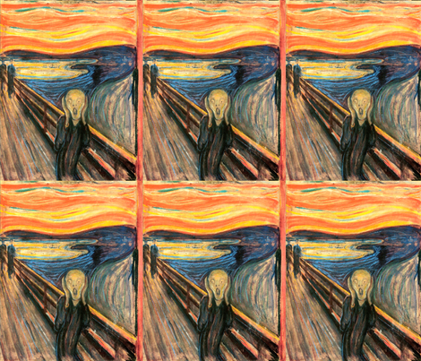 Munch The Scream 1893 9 In Wallpaper Designed By