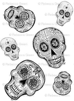 Topsy Turvy Skulls