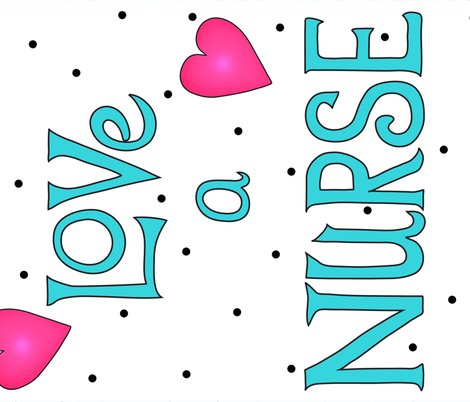 Love_a_nurse_wholecloth_quilt_top_turquoise_shop_preview