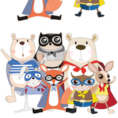 Super Hero Animals