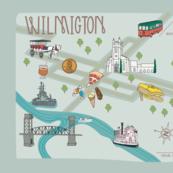 Map of Wilmington