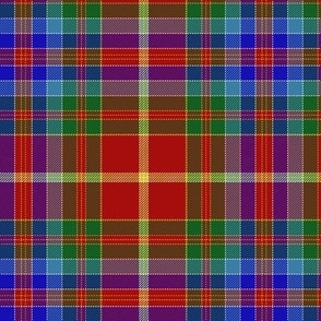Whitworth tartan, 6""