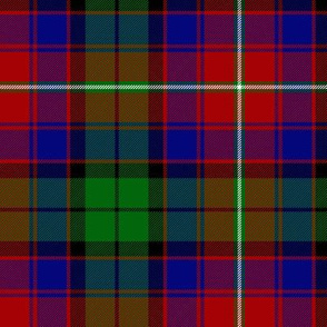 "Rattray of Lude / MacInroy tartan, 6"" bright"