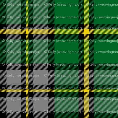 "Cape Breton tartan, 6"" modern colors"