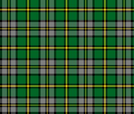 "Cape Breton tartan, 6"" modern colors fabric by weavingmajor on Spoonflower - custom fabric"