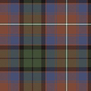 """Rattray of Lude / MacInroy tartan, 6"""" weathered"""