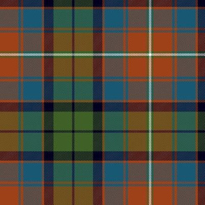 "Rattray of Lude / MacInroy tartan, 6"" ancient"