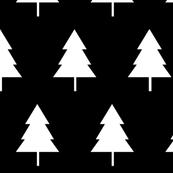 Monochrome Trees Large