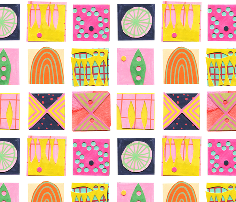 9 Squares fabric by zoe_ingram on Spoonflower - custom fabric