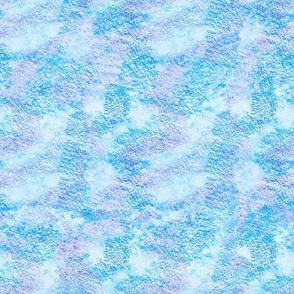 Abstract pastel print