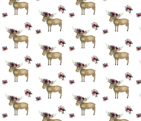 Rbohemian_moose_with_red_wine_florals_copy_shop_preview