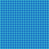 houndstooth royal and turquoise - mini