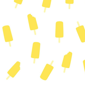 ice pop yellow- big