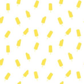 ice pop yellow- small