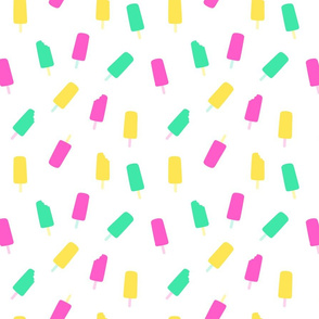 mixed colour ice pops- small