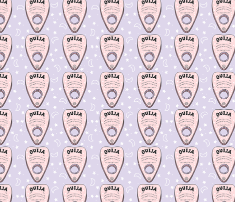 Ouija Board  fabric by how-store on Spoonflower - custom fabric