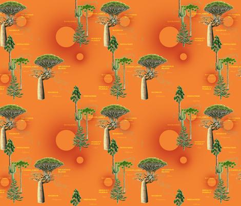 Strange Trees of the World fabric by stephanie_gobby on Spoonflower - custom fabric