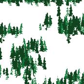 Tree Grove in green