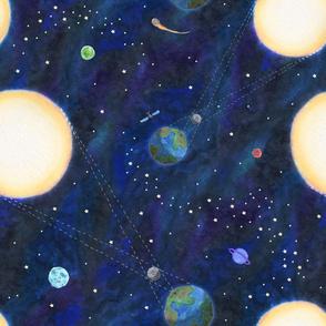 Total Solar Eclipse - Lighter Background