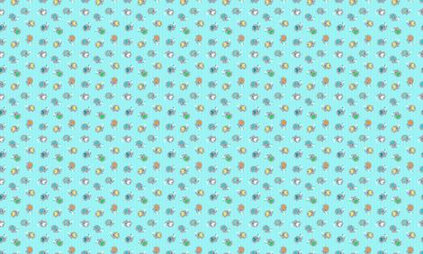 SMElephants fabric by nickisrainbow on Spoonflower - custom fabric