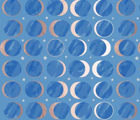 solareclipse_gold3 fabric by pixabo on Spoonflower - custom fabric
