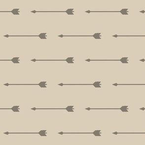 Long Arrows - Tan - Midnight Woodland