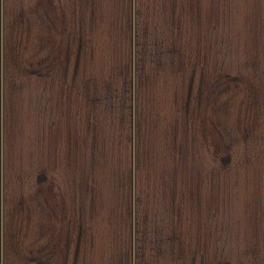 Hickory Wood Paneling