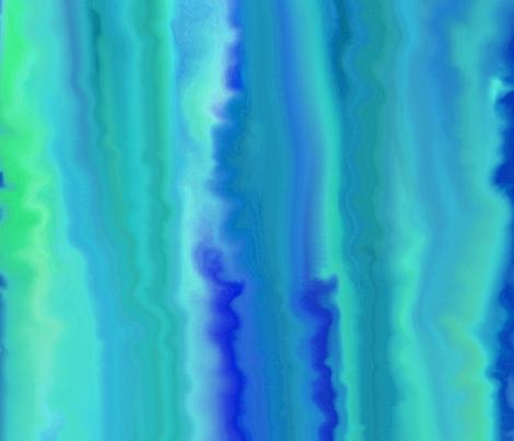 ocean_turbulance blue-green fabric by ladyfayne on Spoonflower - custom fabric