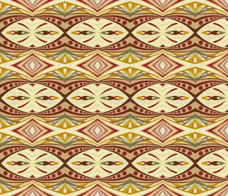 Mom's Sofa: Deco and Dots fabric by tallulahdahling on Spoonflower - custom fabric
