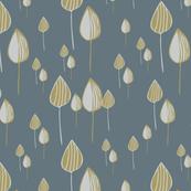 Tree Drops - Charcoal