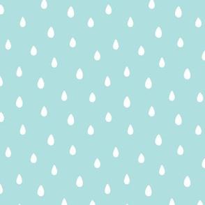 Rain Drops Shutter Blue