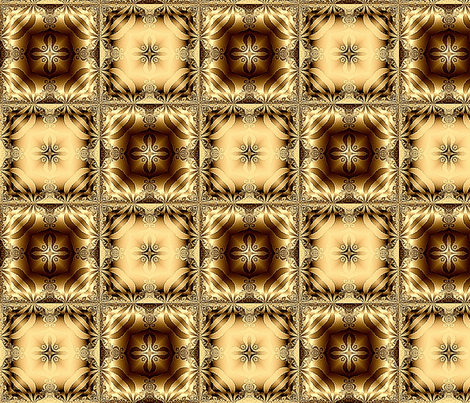 Fractal 202 fabric by anneostroff on Spoonflower - custom fabric