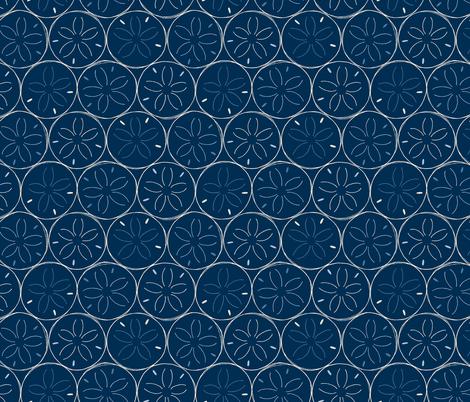 Sanddollars fabric by figandfossil on Spoonflower - custom fabric