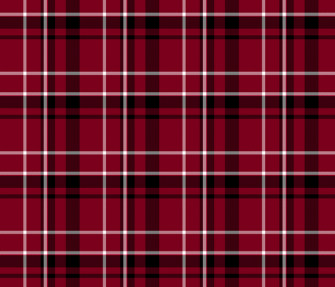 red black and white plaid fabric gingezel spoonflower
