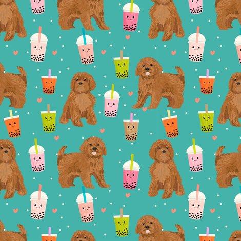 bubble tea fabric, wallpaper & gift wrap - Spoonflower