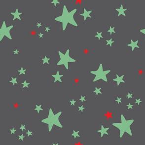 Circus Stars Gray