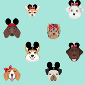 Theme Park Dogs - Mint