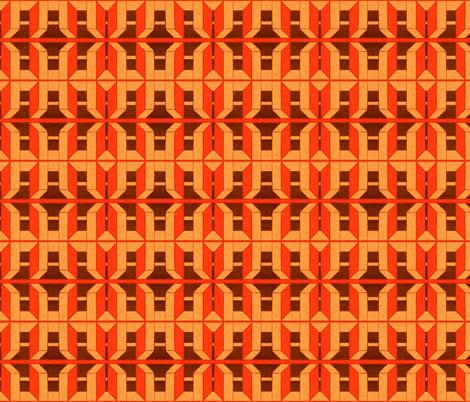 moyen age 205 fabric by hypersphere on Spoonflower - custom fabric
