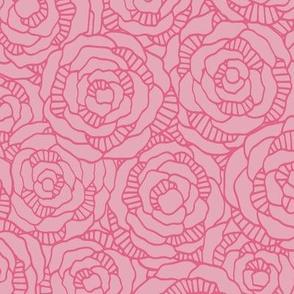 Modern Blossom  - Coral Sugar