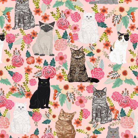 Rrcats_flowers_tile_pink_black_cat_shop_preview