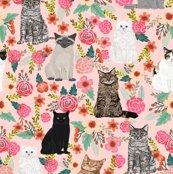 Rrcats_flowers_tile_pink_black_cat_shop_thumb