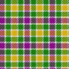 Mardi Gras Plaid 4
