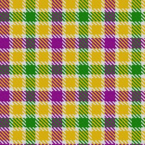 Mardi Gras Plaid 5