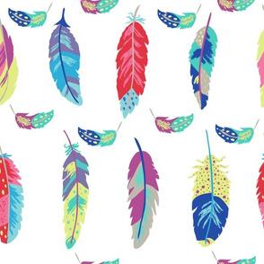 Fantasy Feathers White