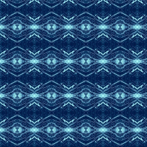 Altered States of Indigo Tribal Stripe